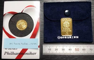 金貨と金地金